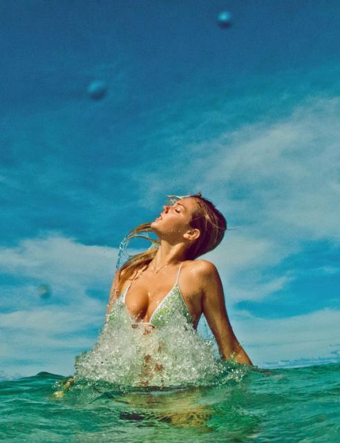 la capitaine du jour : plongée en slow motion